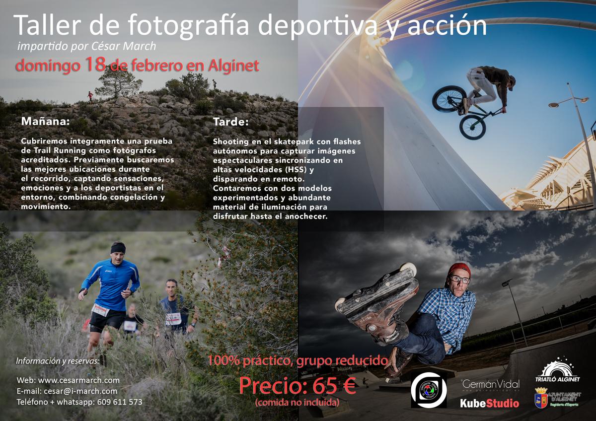 Fotografía deportiva y acción